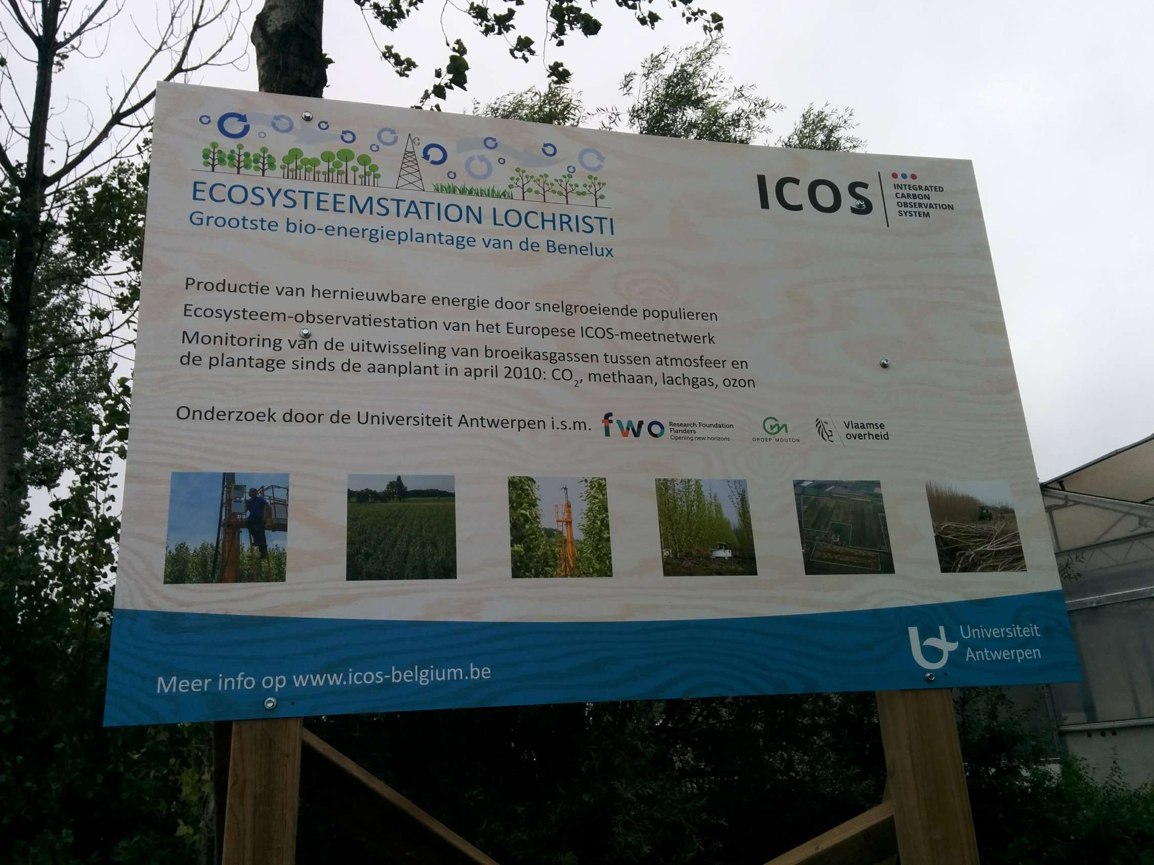 New infomation panels lochristi